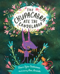 "Cover Reveal ""The Chupacabra Ate the Candelabra"" & Pre-order Links"