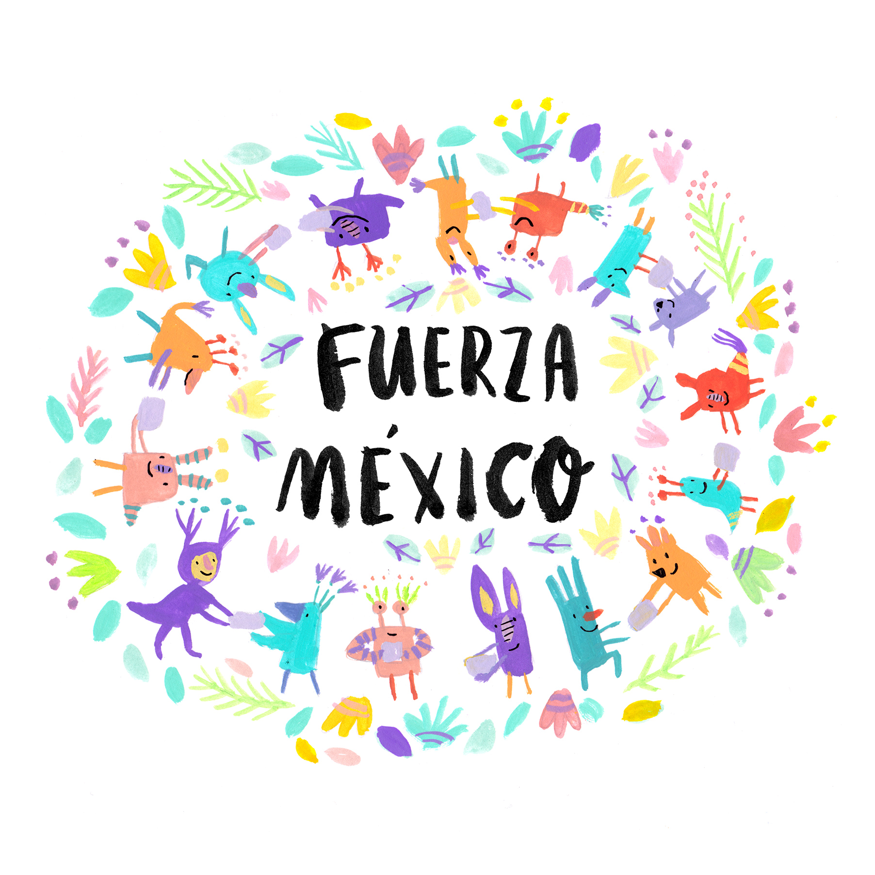 Thank you! Prints for Mexico's earthquake relief