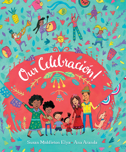 """Our Celebración!"" - Pre-order links & Kirkus Starred Review!"